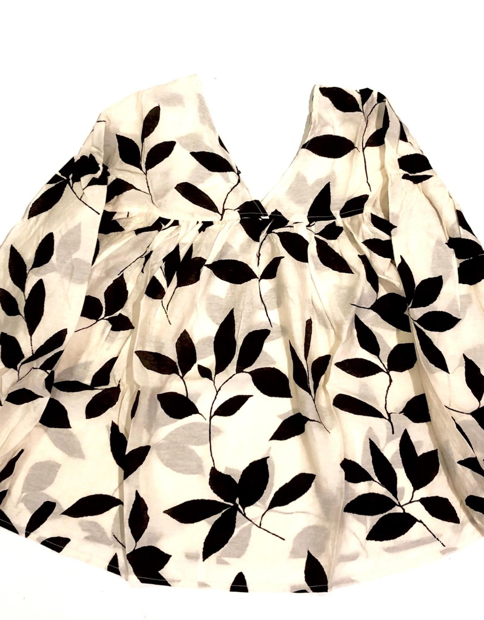 ces femme boho long sleeve floral top TI3058PH