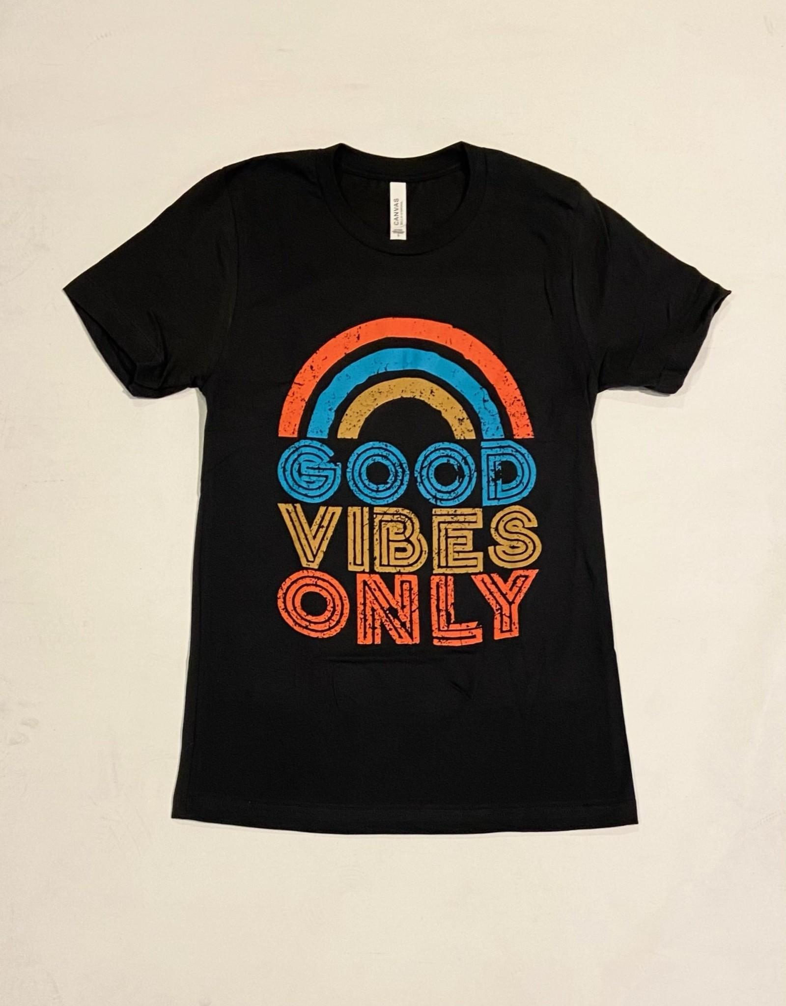inked up apparel good vibes tshirt