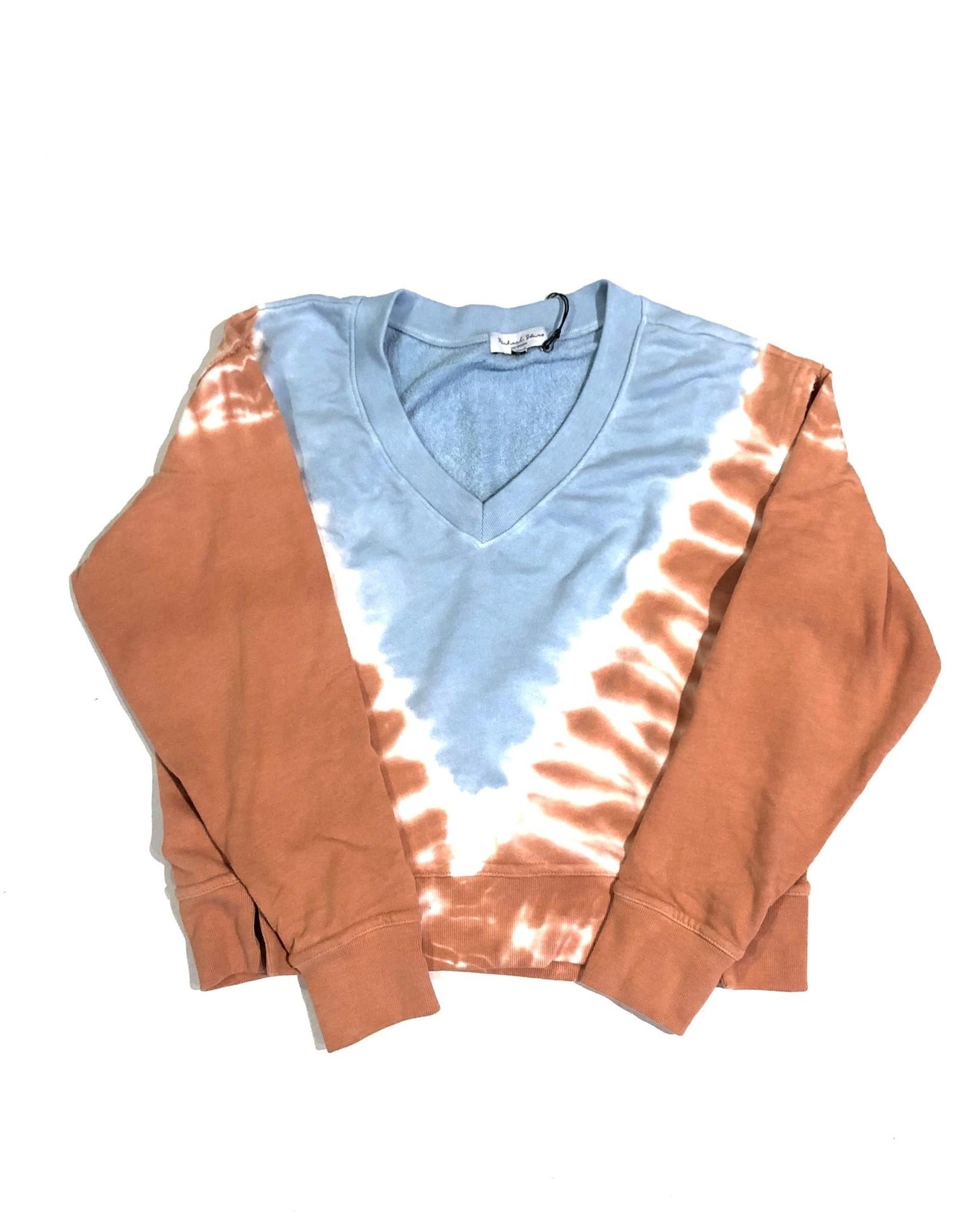 MS camila tie dye vneck pullover A527CNY