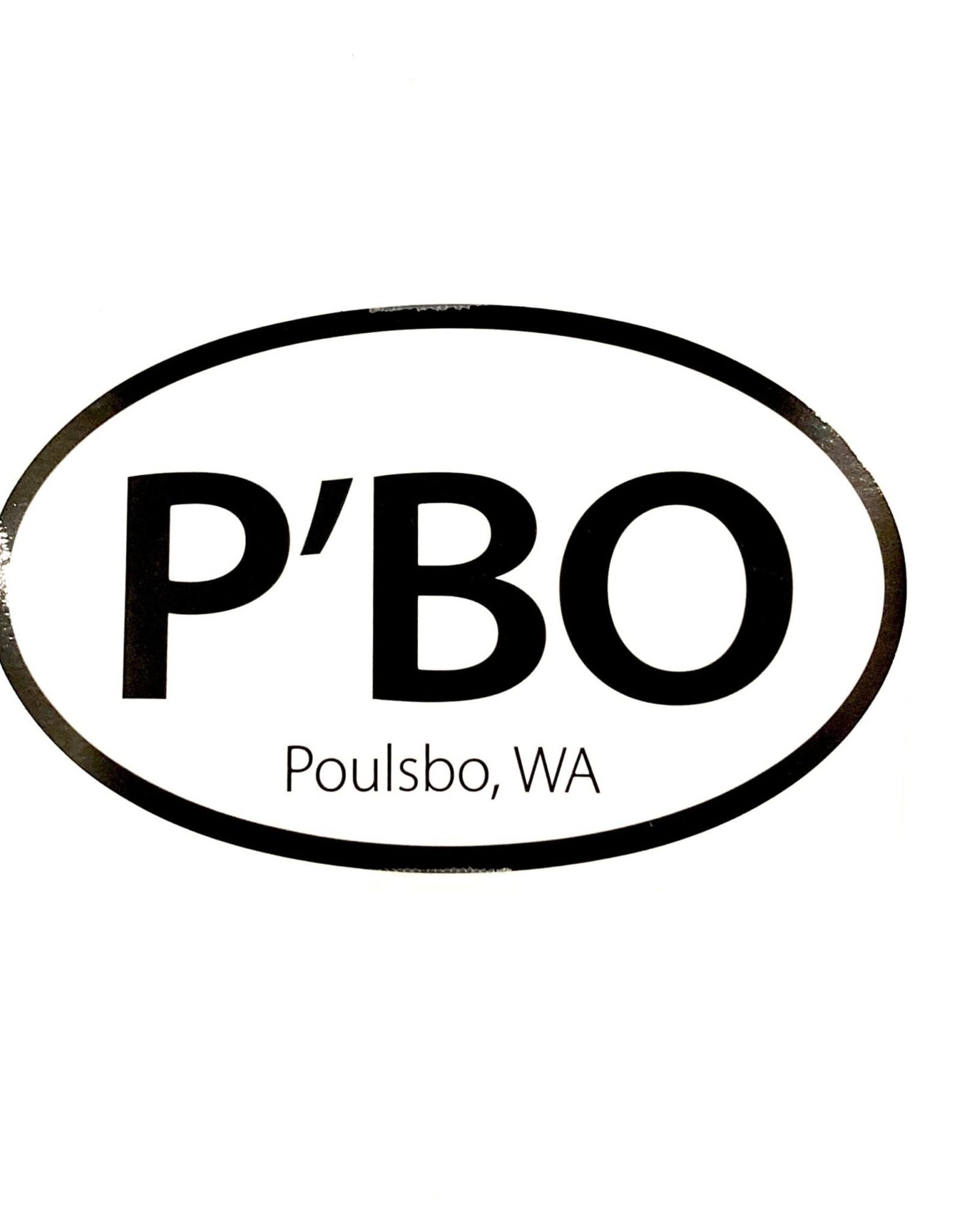 PBO Sticker