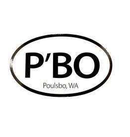 original PBO Sticker