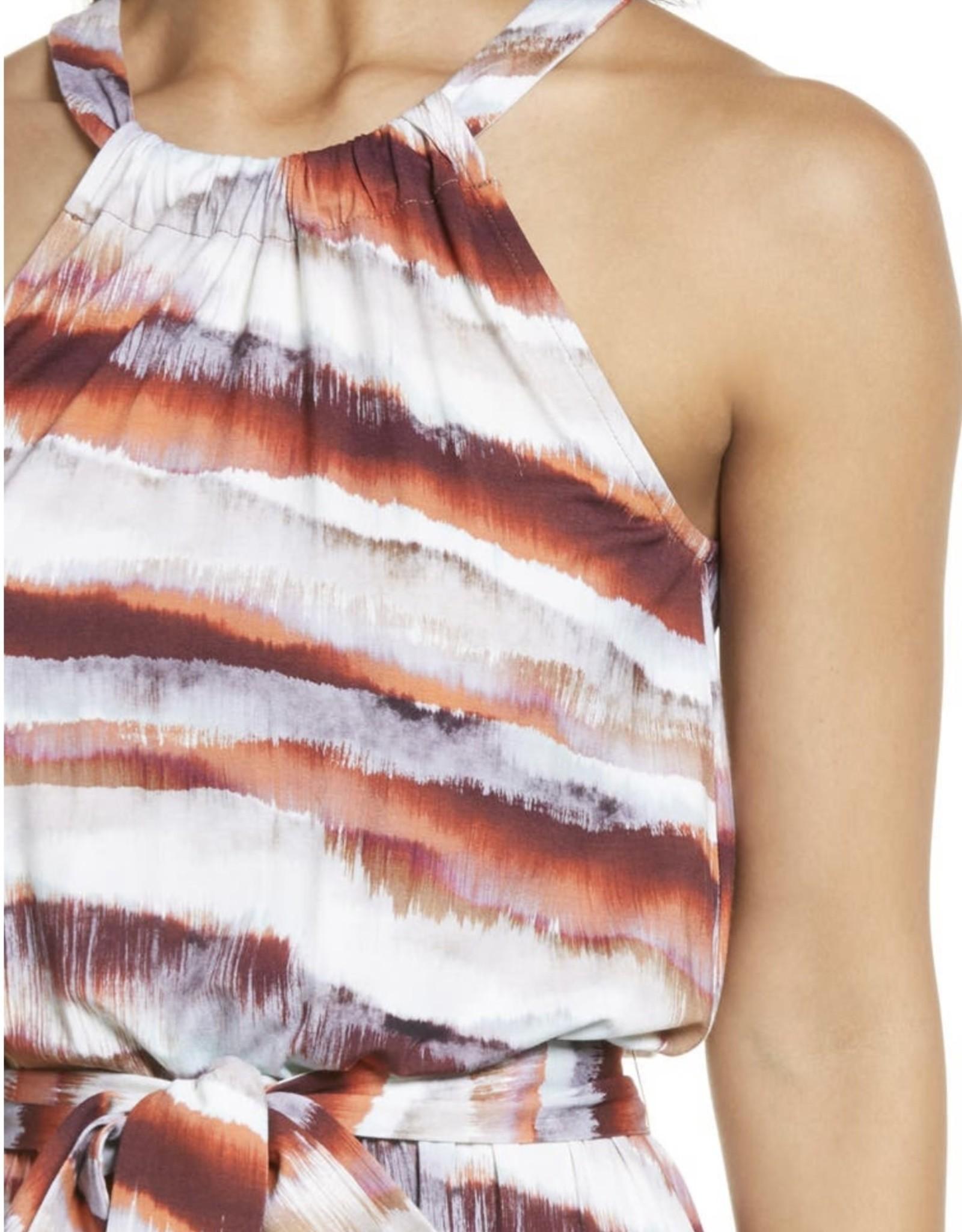 Ilse Soul Halter Maxi dress  7064fade