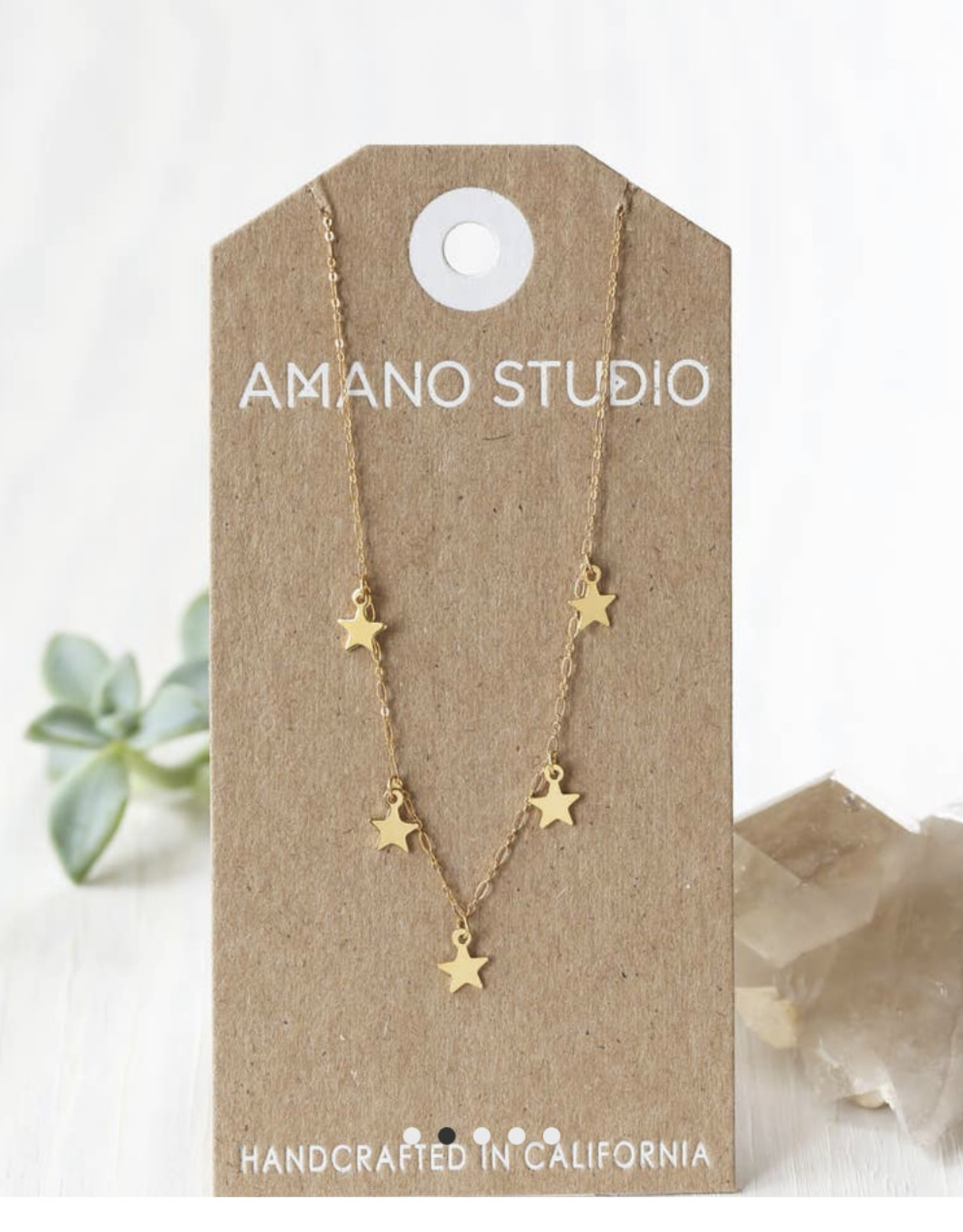 five stars necklace 625S