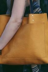 Leather Laurel Tote