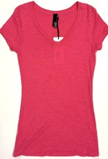 fitted v-neck tee b-26130