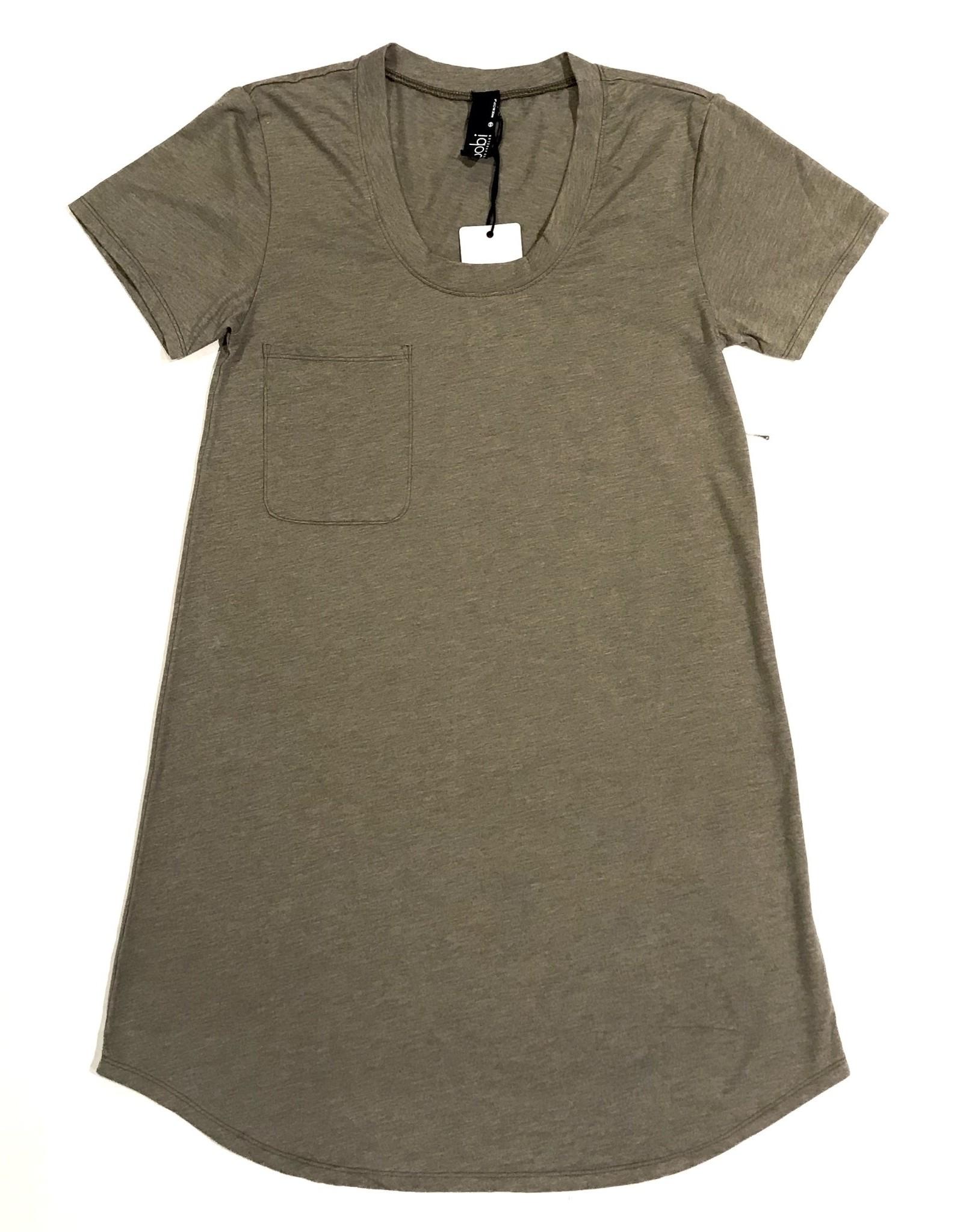 Pocket T Shirt Tunic B-31206