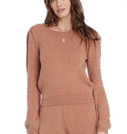 Bordeaux long sleeve Sweater S1882