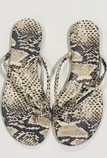 Tkee Riley Exotic sand snake sandal RILE