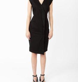 PU double agent cotton dress 1197
