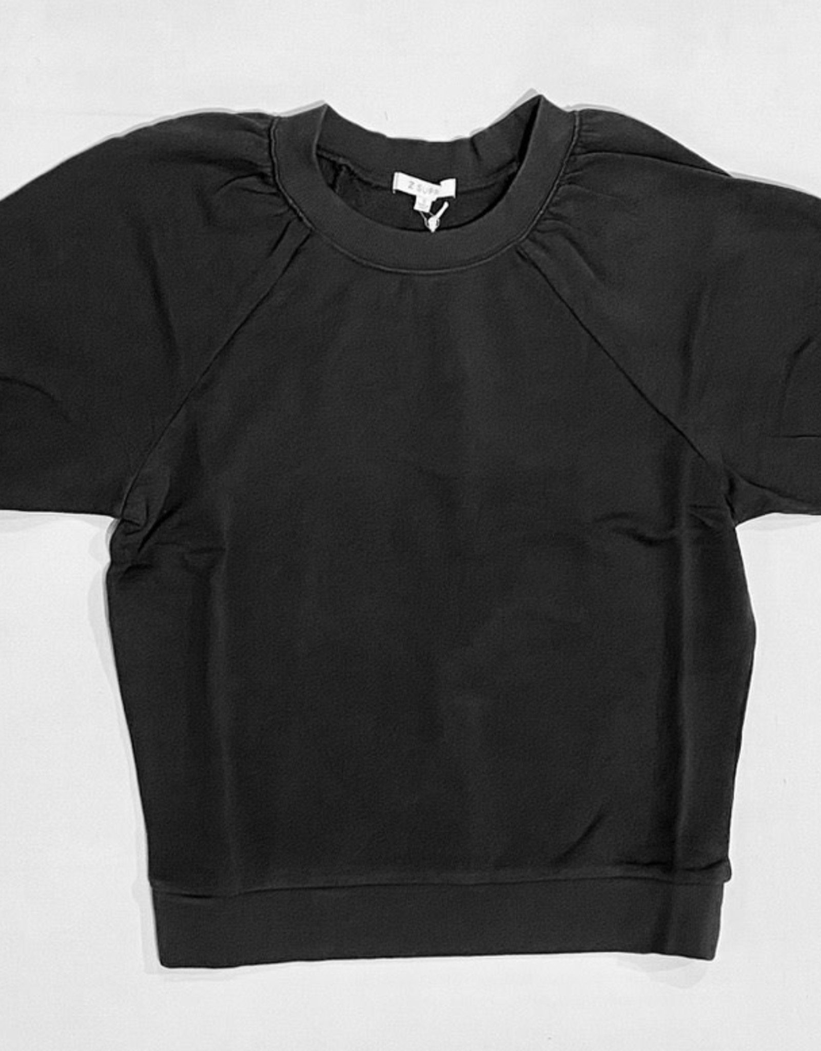 ZS Gianna Terry Tee ZT211262 Washed Black L