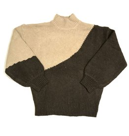 lush diagonal crew sweater LT16198