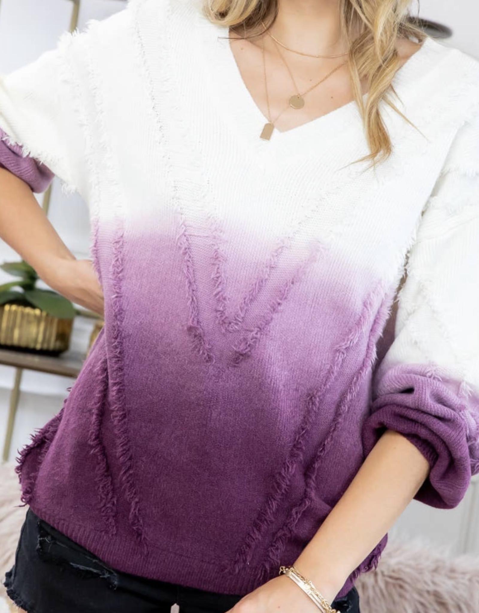 sweet lovely by Jen SL Ombre Sweater SW202