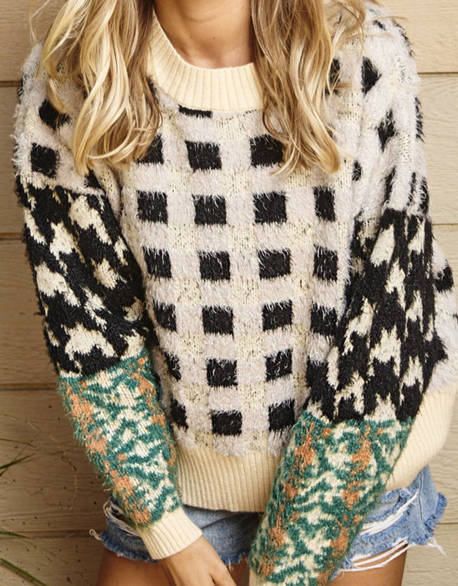 ces femme CF boho sweater TI10613