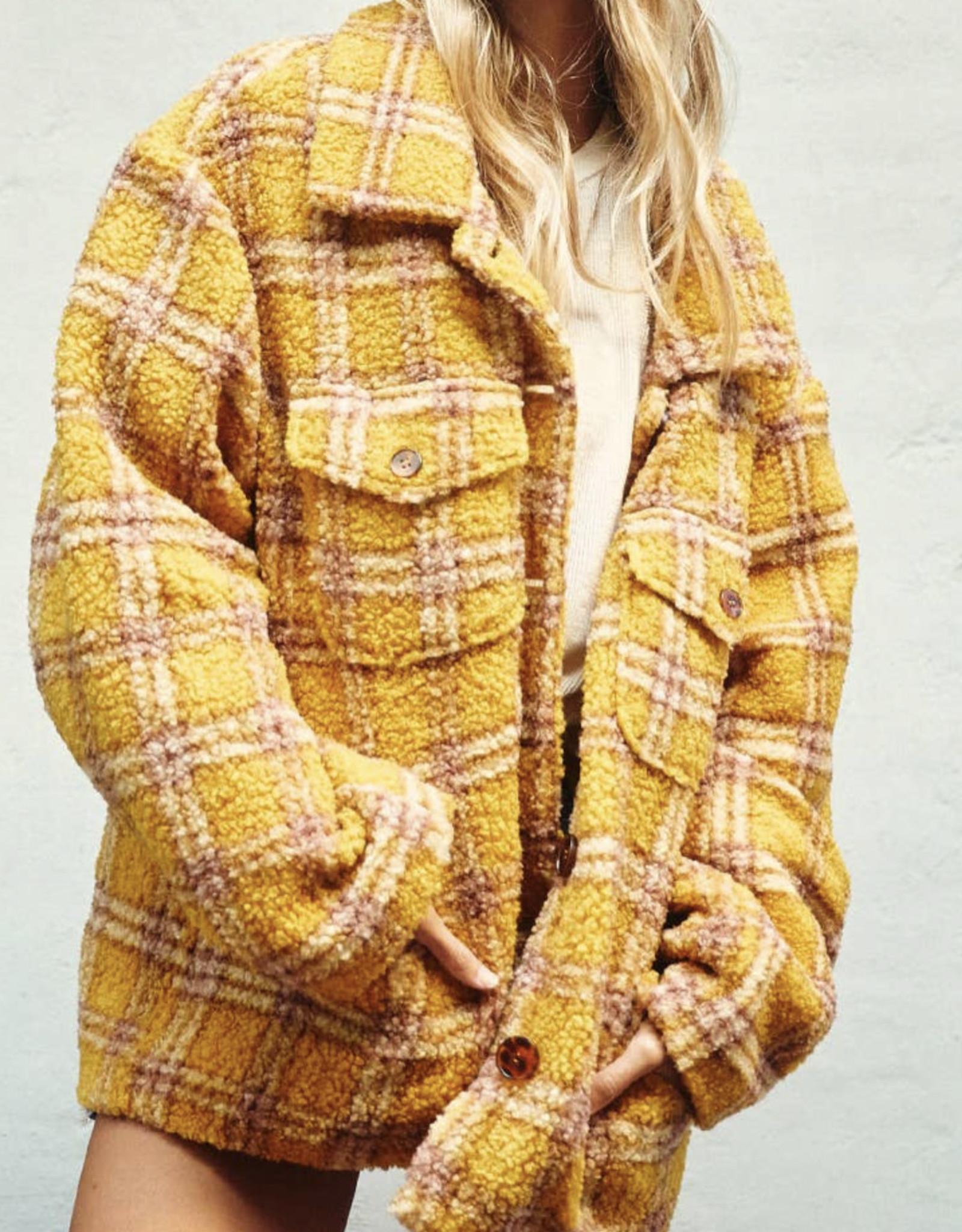 CF Plaid shirt jacket JI8300