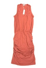 U Neck Sleeveless Dress- F2112K52