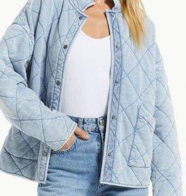 Maya Knit Denim Jacket- ZJ213155