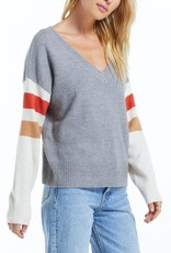 ZS sportif color block sweater ZW213236