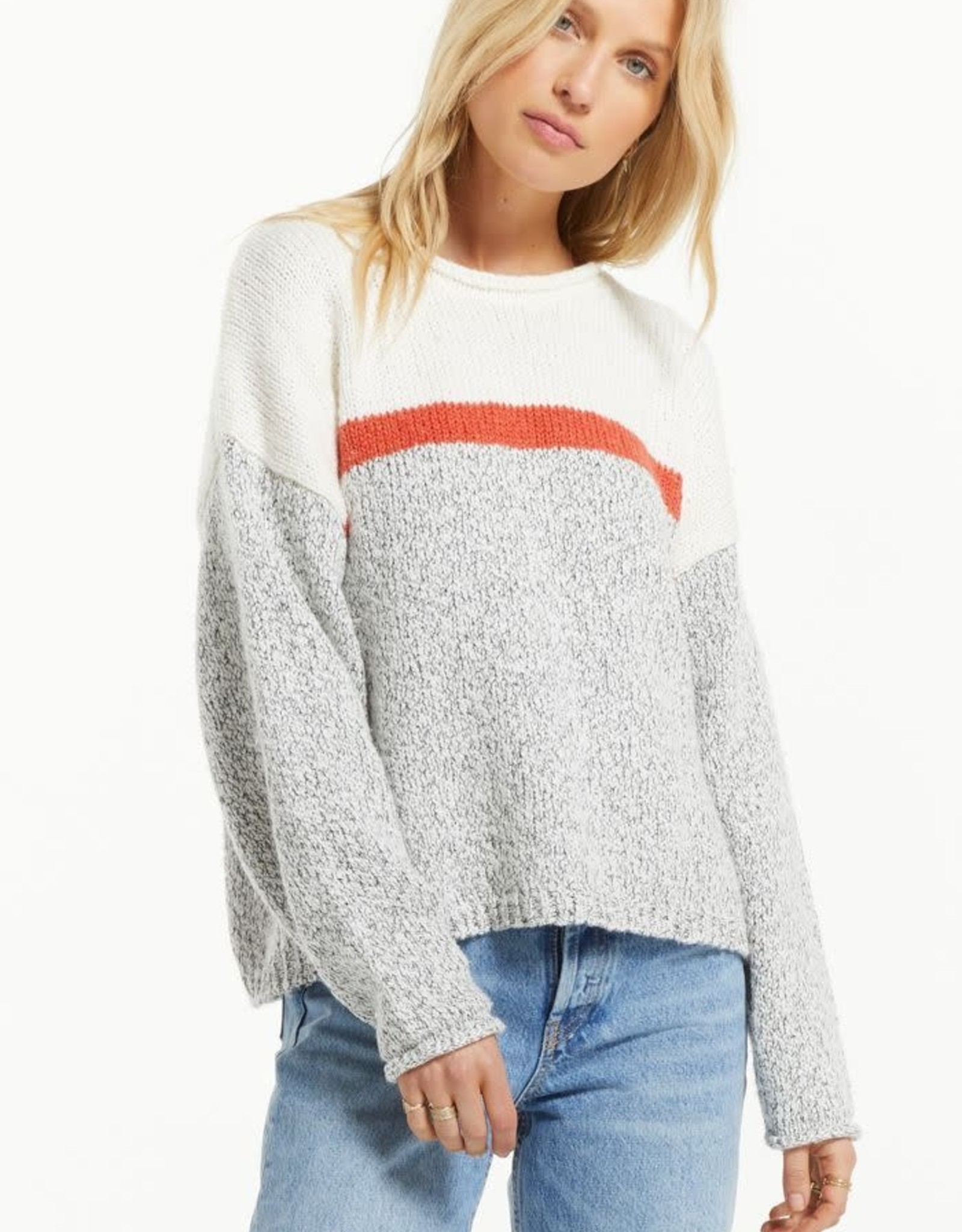 ZS Kennedy color block sweater ZW213226