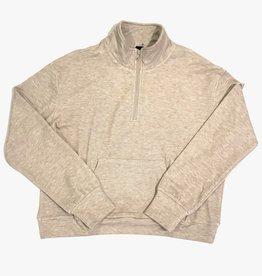 bobi quarter zip sweater 54B-64613