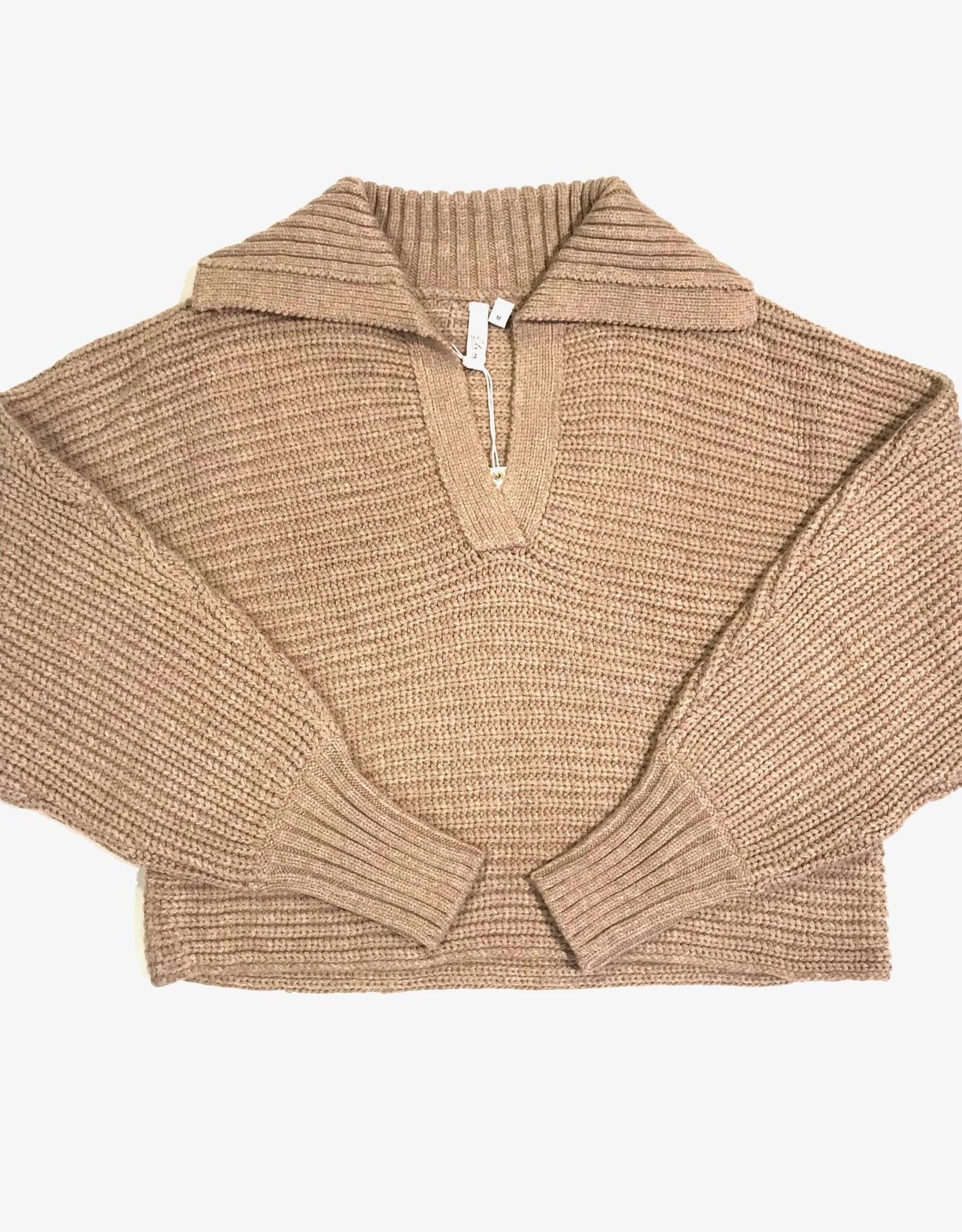 Elan Elan V-neck collar sweater SW10717