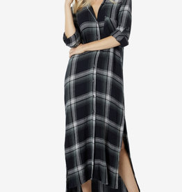 BD Rolled Sleeve Duster Dress B6676