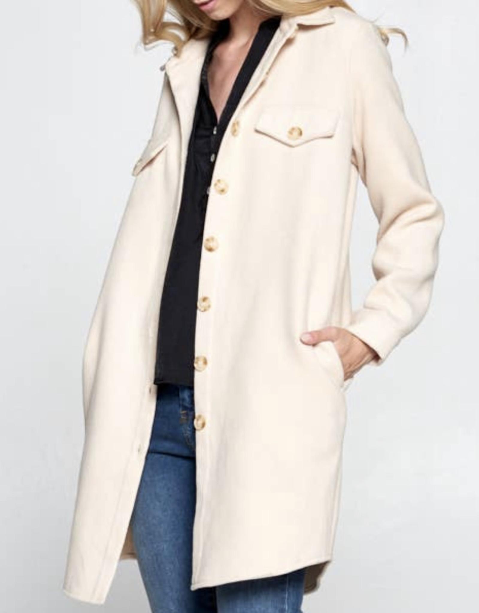 Ellison oversized button down jacket RJ-2866