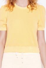 Sundry Puff Sleeve Banded Tee f21-12-N39