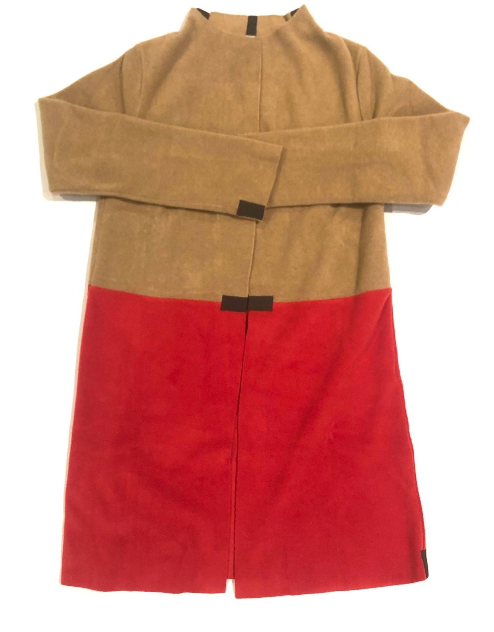 HS fleece cardigan 2 colored