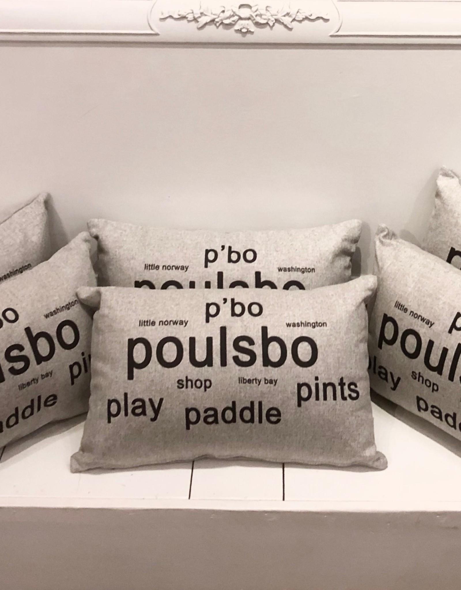 Pillow Decor Poulsbo Pillow PD2 12x19