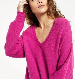 ZS Autumn V-neck sweater zw214476