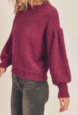 Lush Balloon sleeve sweater IT1876