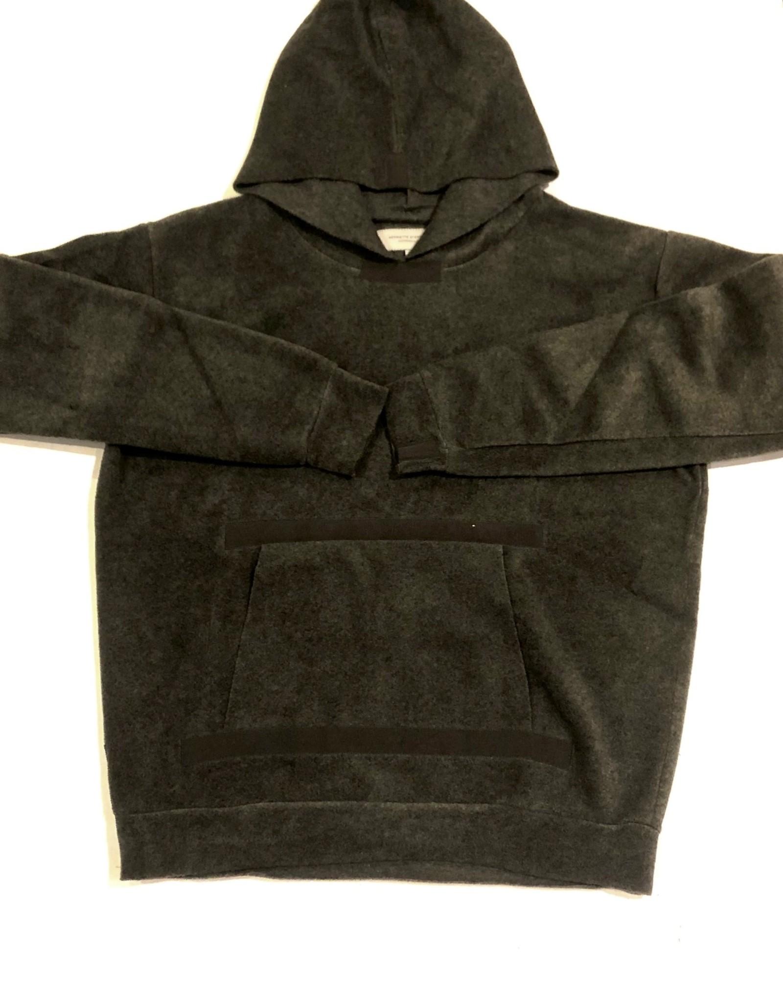 HS fleece pocket hoodie 1344