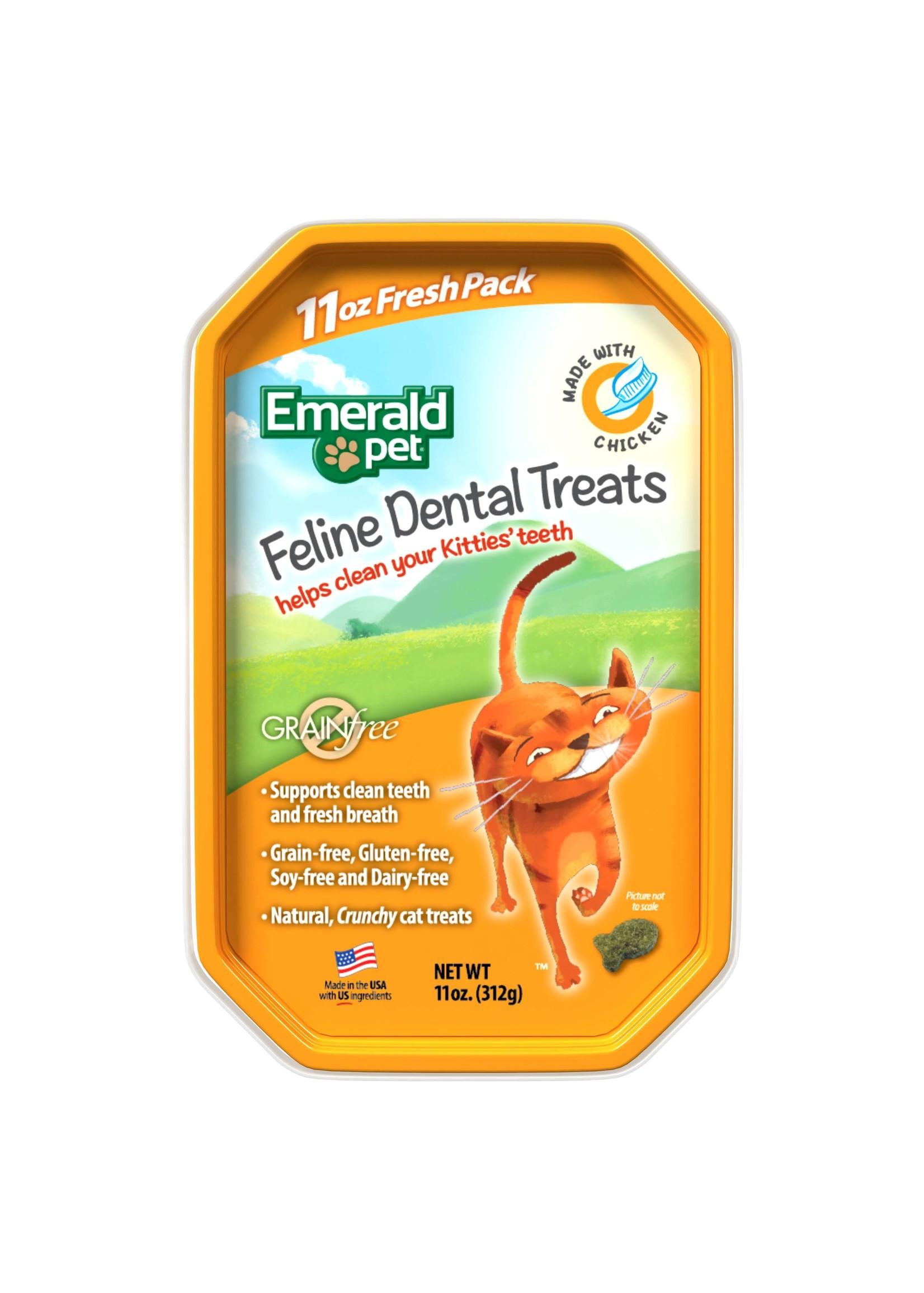 Emerald Pet Emerald Pet Feline Dental Treats 3 oz