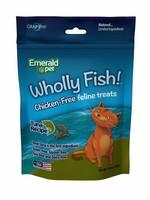 Emerald Pet Emerald Pet Feline Wholly Fish Tuna Cat Treat 3 oz