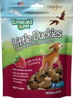 Emerald Pet Emerald Pet Little Duckies Cranberry Blueberry Sweet Potato Pumpkin 5oz