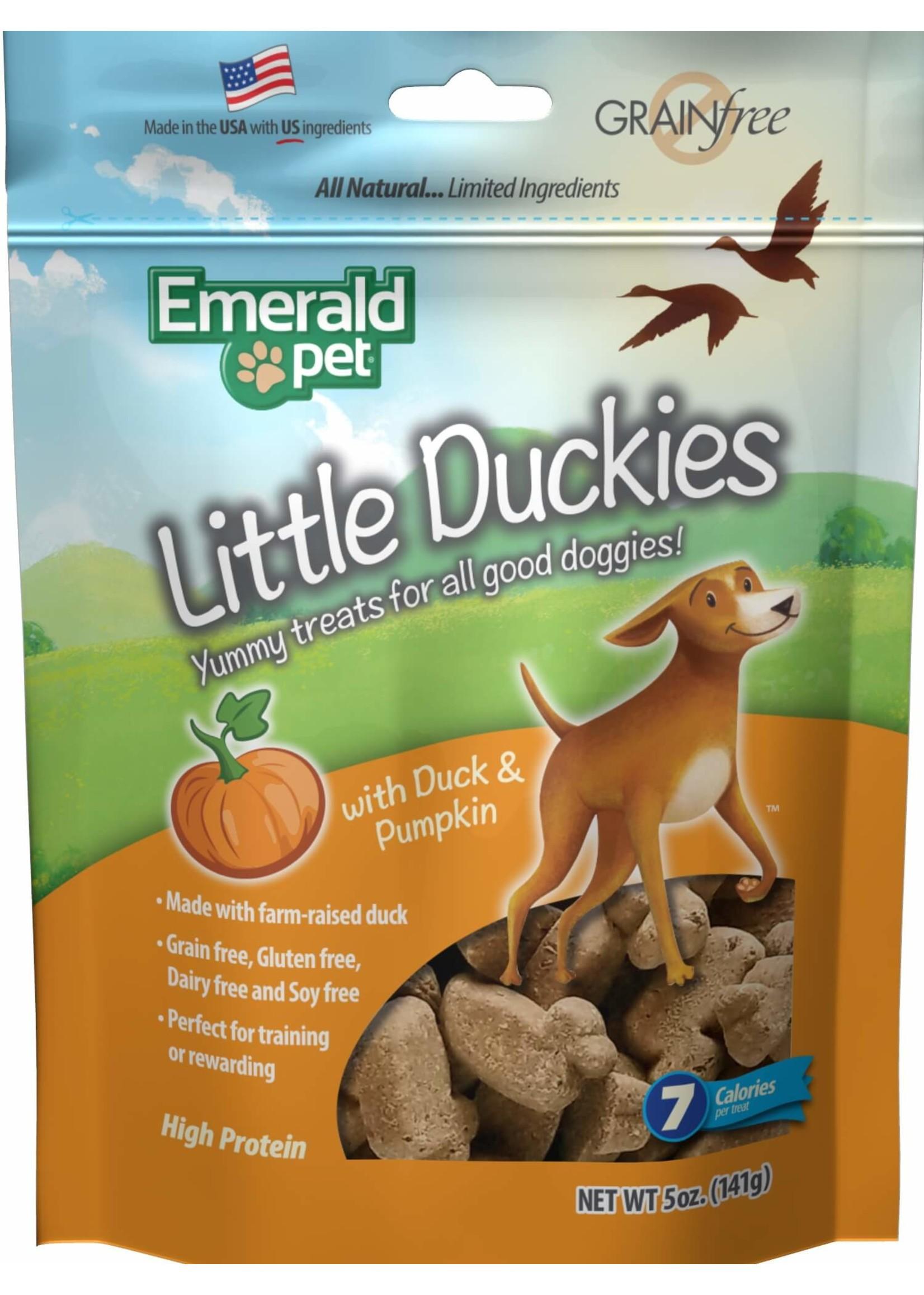 Emerald Pet Emerald Pet Little Duckies Cranberry Blueberry Sweet Potato Pumpkin5oz