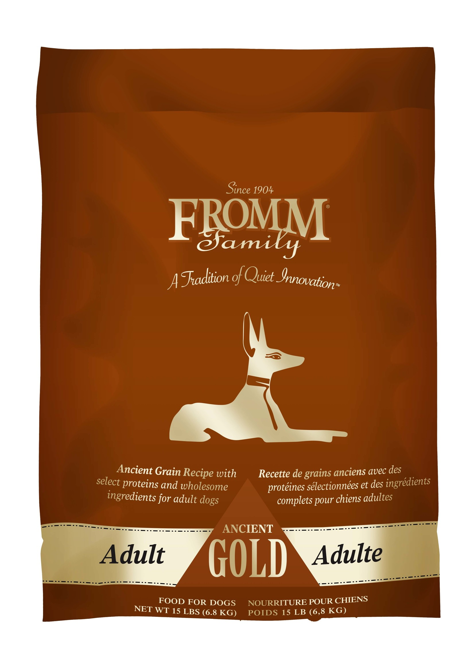Fromm Fromm  Ancient Grain Adult Gold, 15lb