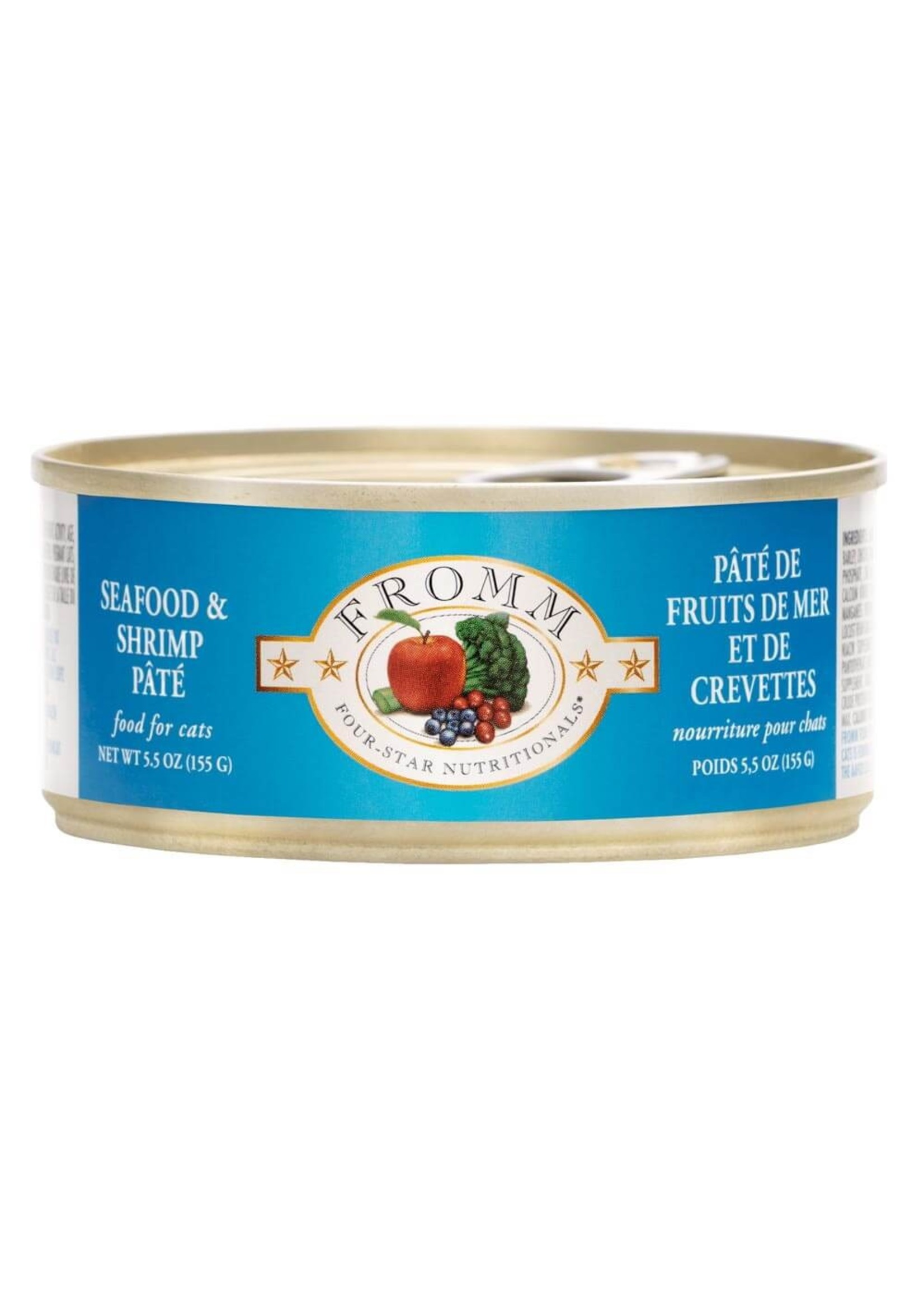 Fromm Fromm Four Star Cat Seafood & Shrimp Pate
