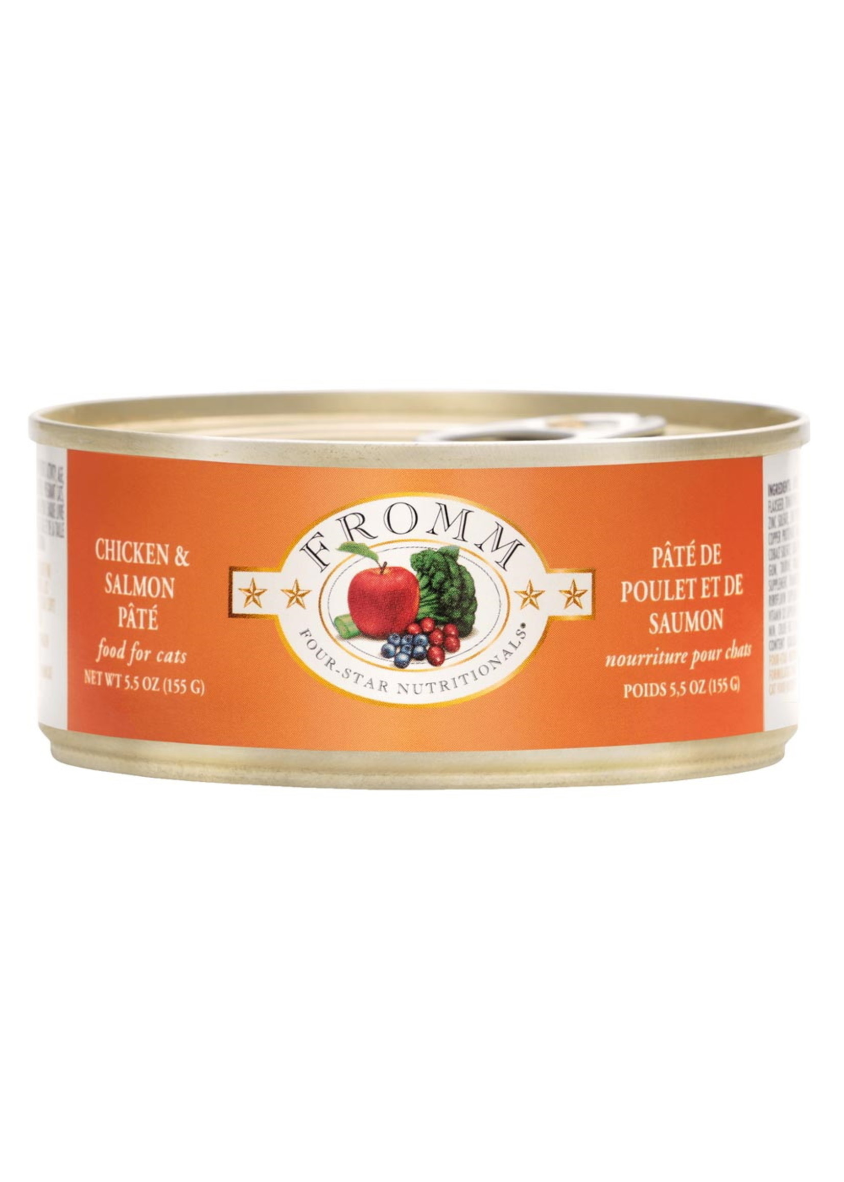 Fromm Fromm Cat Chicken/Salmon Pate, 5.5oz Can