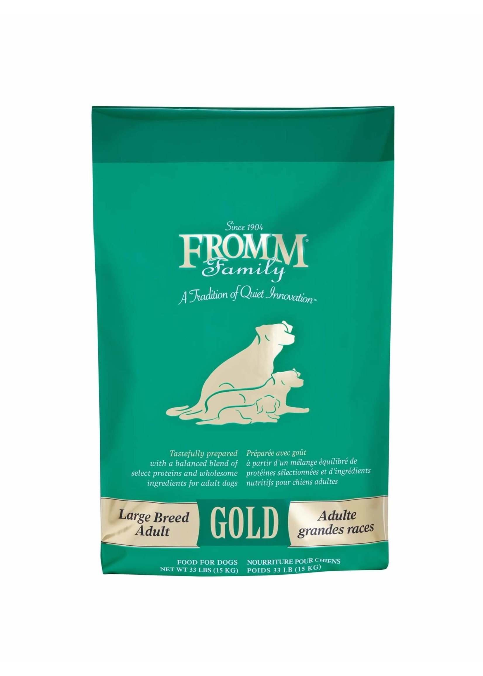 Fromm Fromm 33lb Dog Large Breed Adult Gold