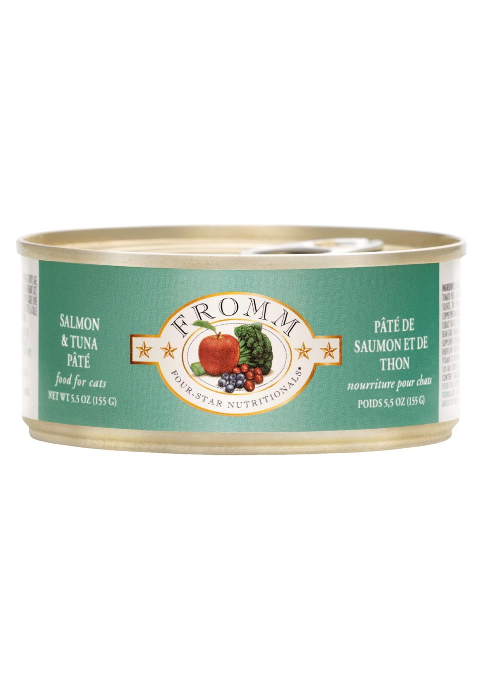 Fromm Fromm Cat Salmon/Tuna Pate, 5.5oz Can