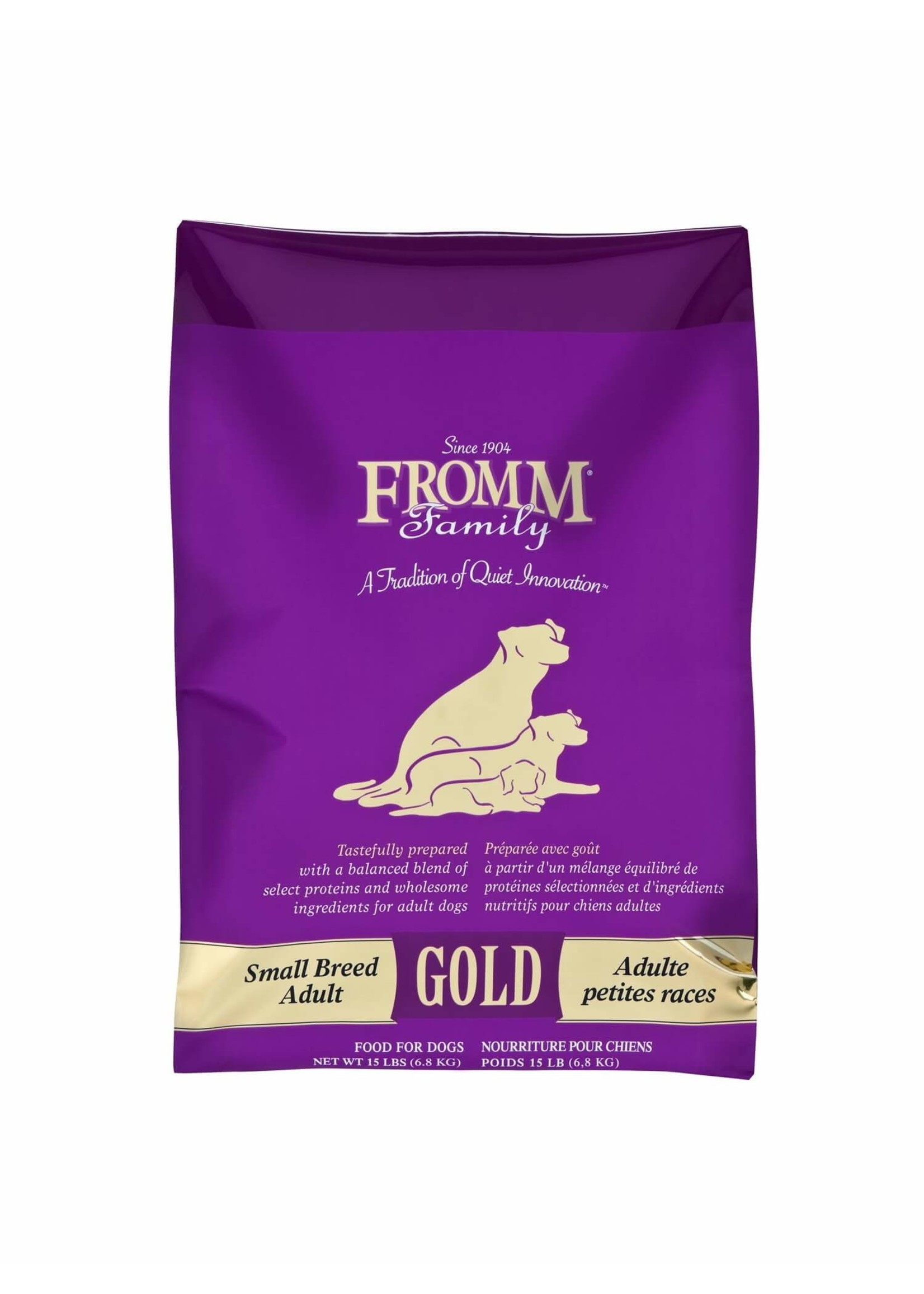 Fromm Fromm Small Breed Adult Gold 15 lb
