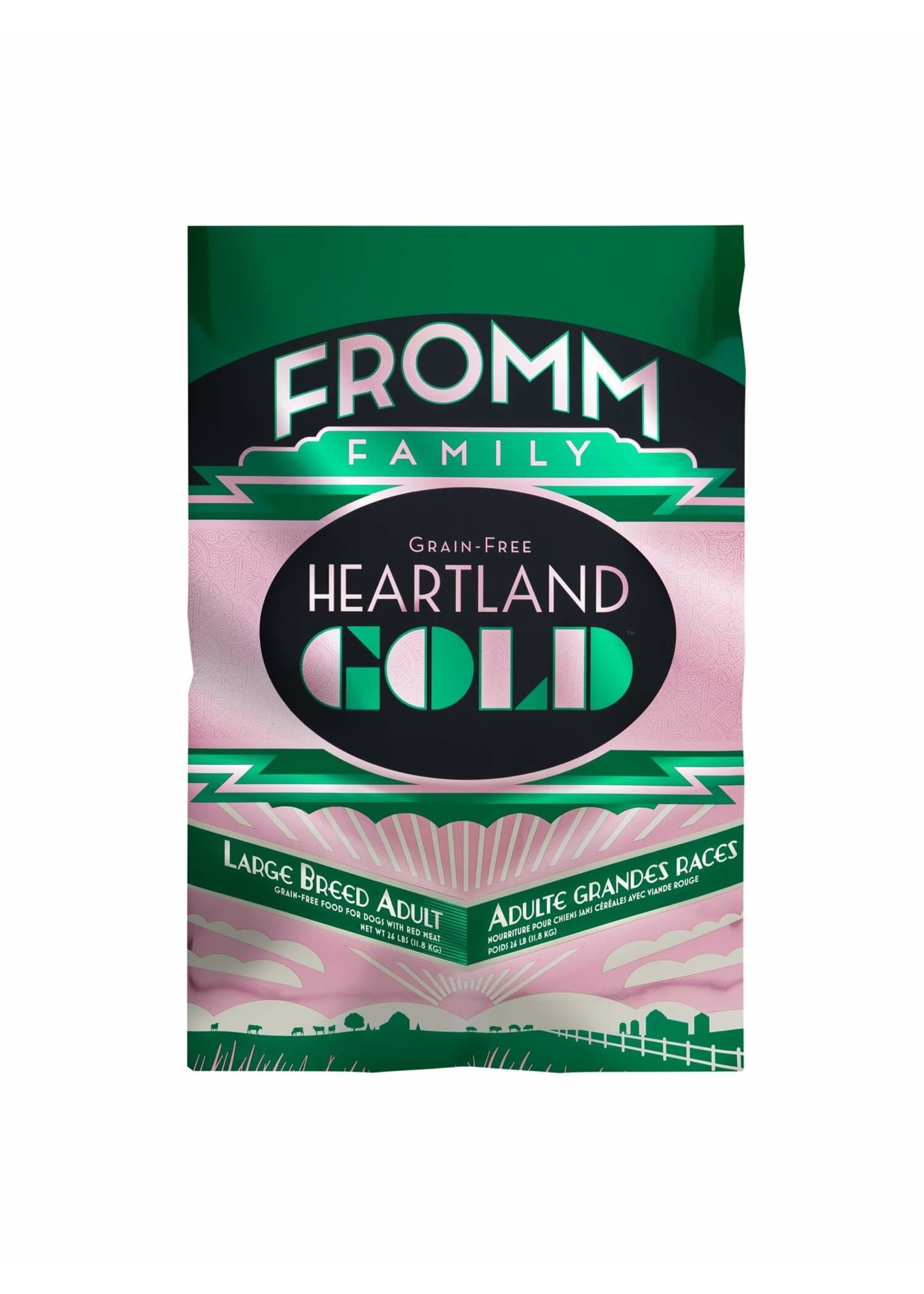 Fromm Fromm Heartland Large Breed Gold Grain Free 26 lb