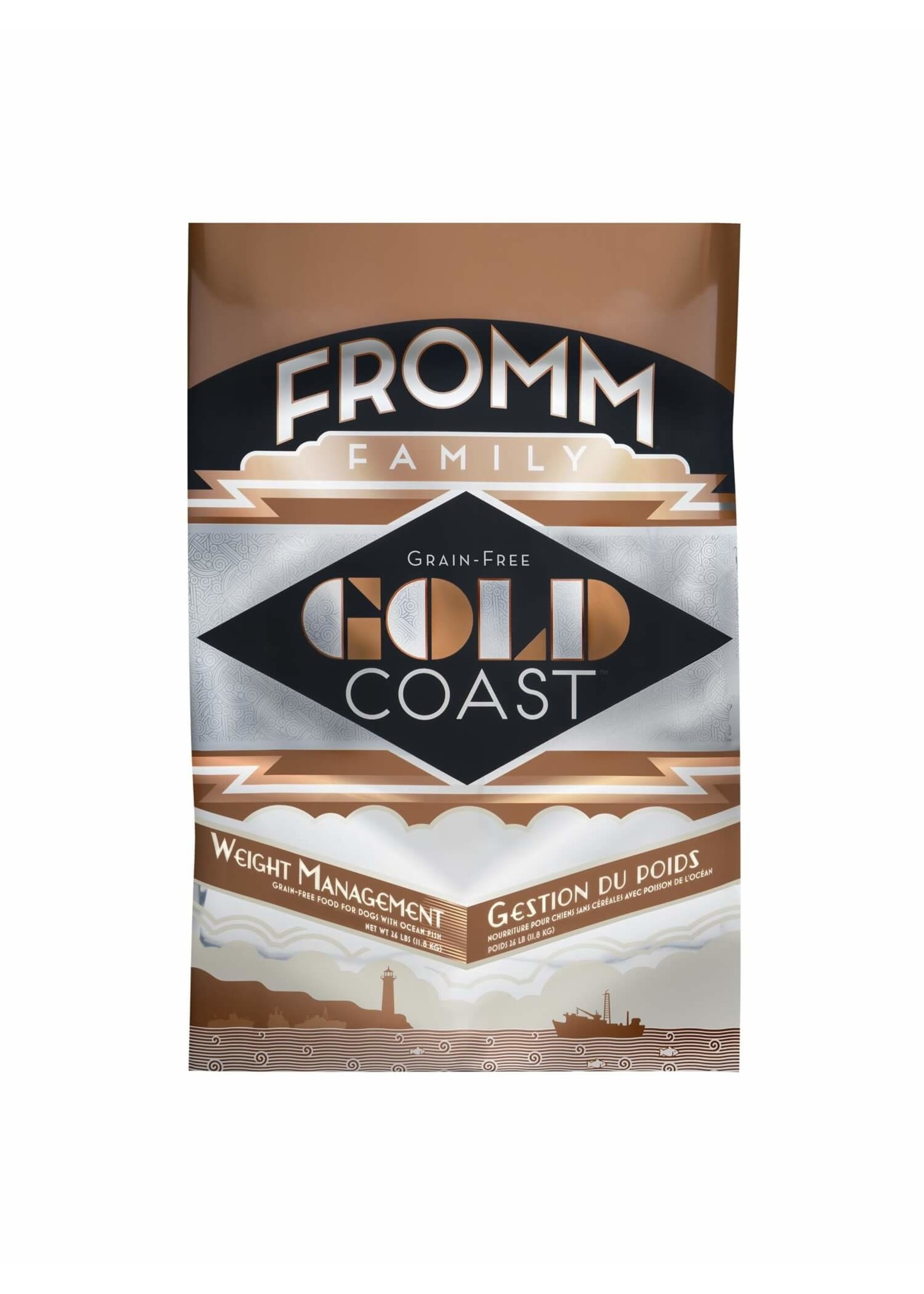 Fromm Fromm Dog Gold Coast Weight Management Grain Free 26lb