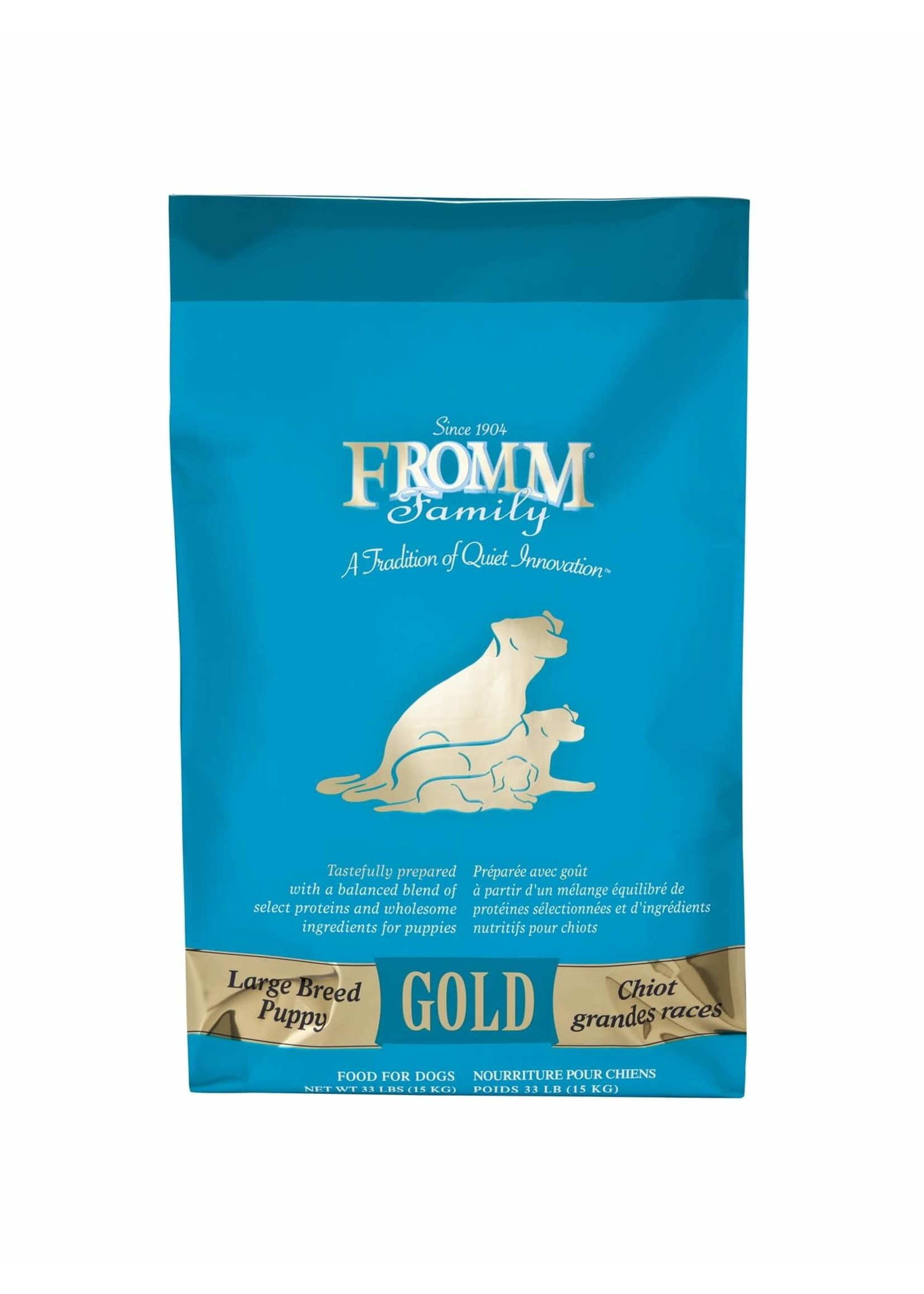 Fromm Fromm Large Breed Puppy Gold 33 lb