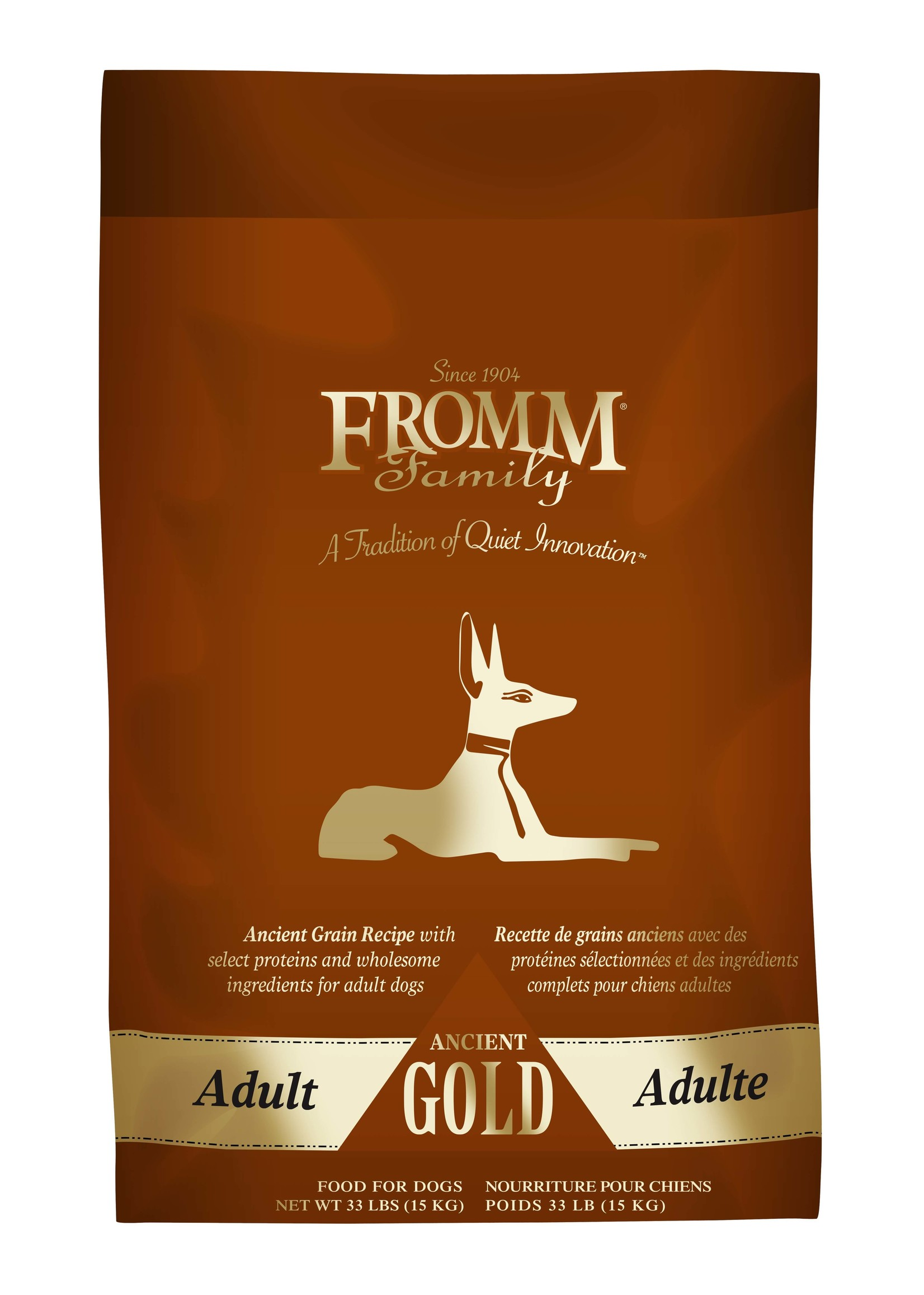 Fromm Fromm Ancient Grain Adult Gold Dog Food 33 lb