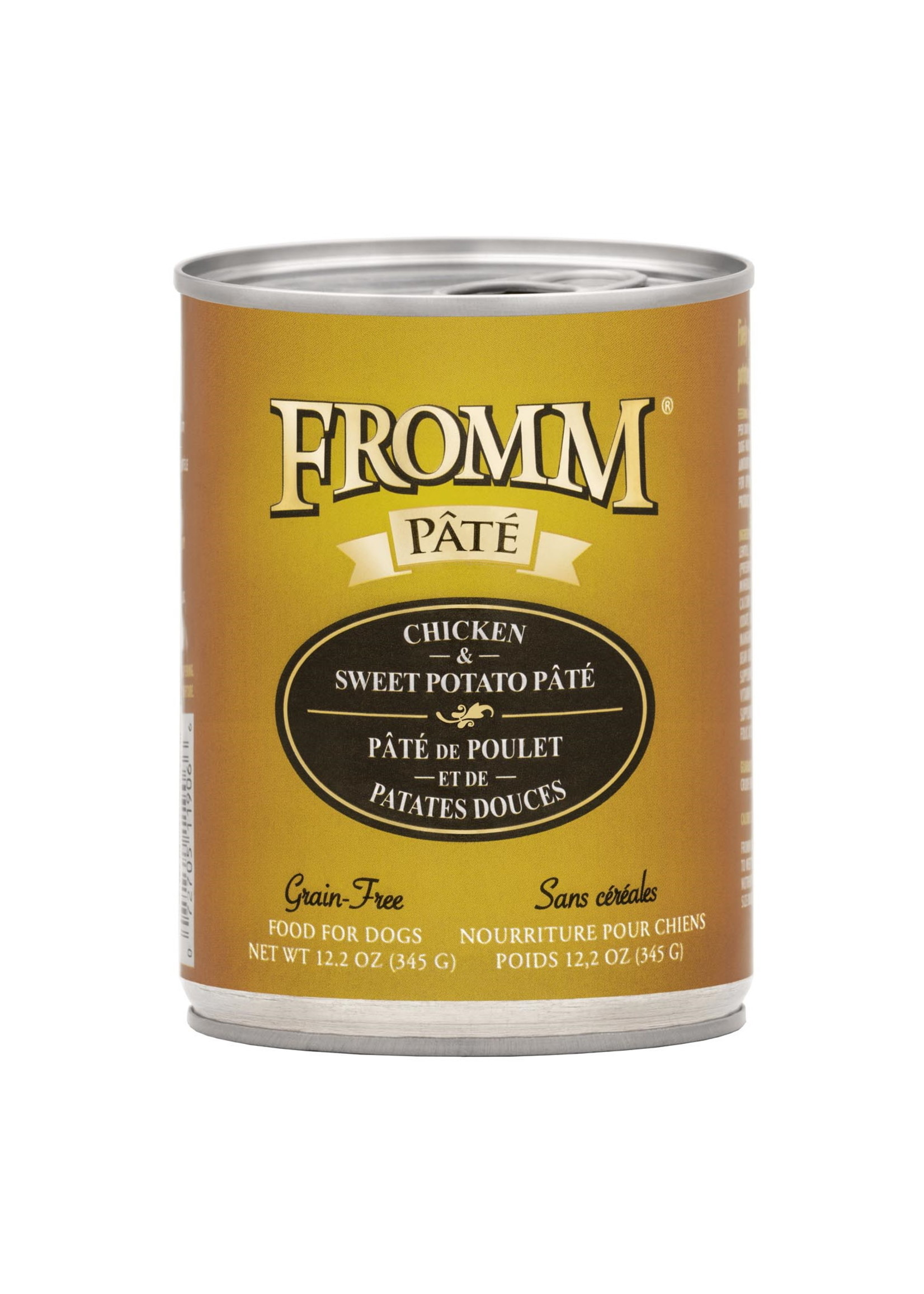 Fromm Fromm Dog GF Chicken & SW Potato Pate 12.2 oz Can