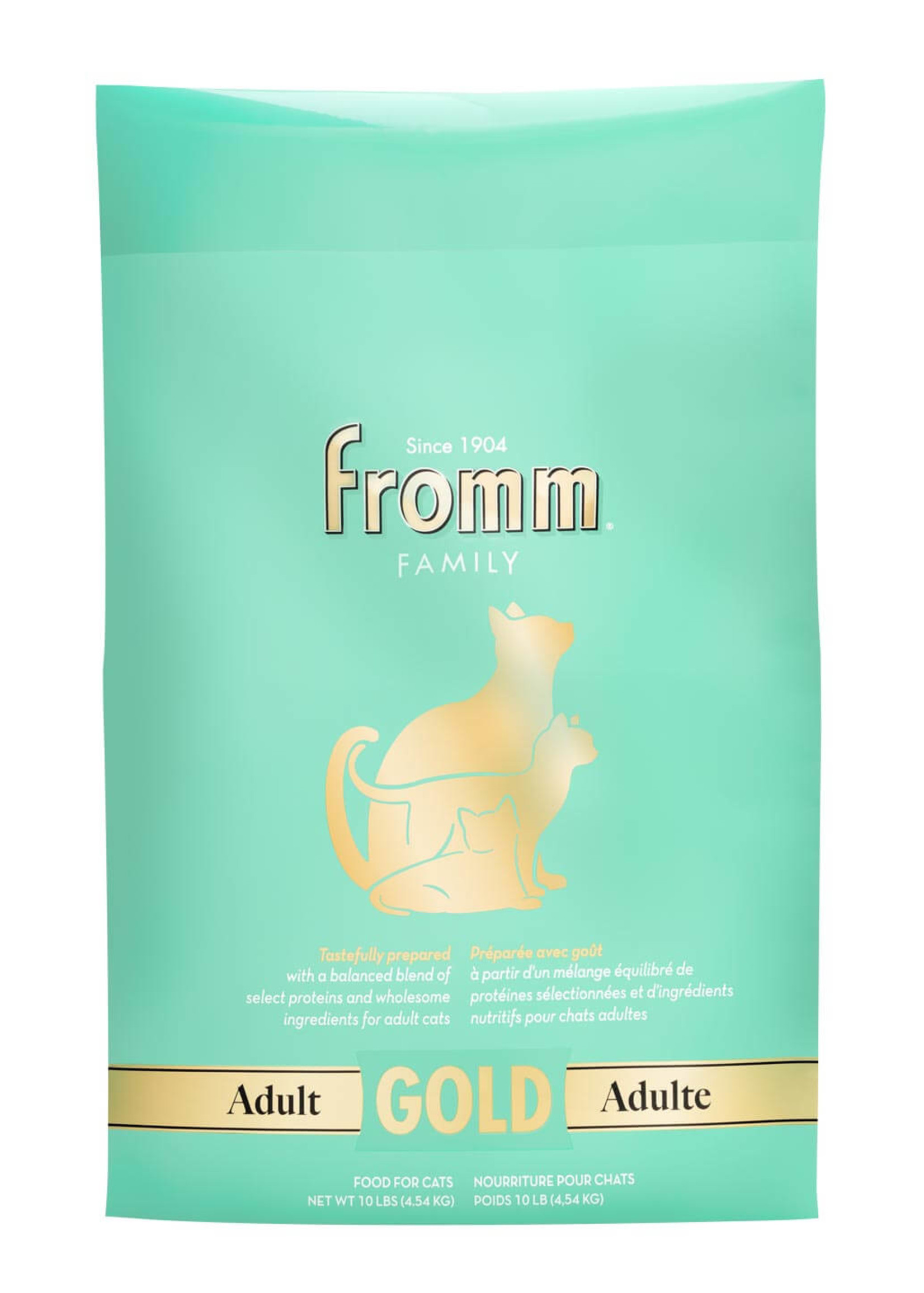 Fromm Fromm Adult Gold for Cats, 10lb Bag