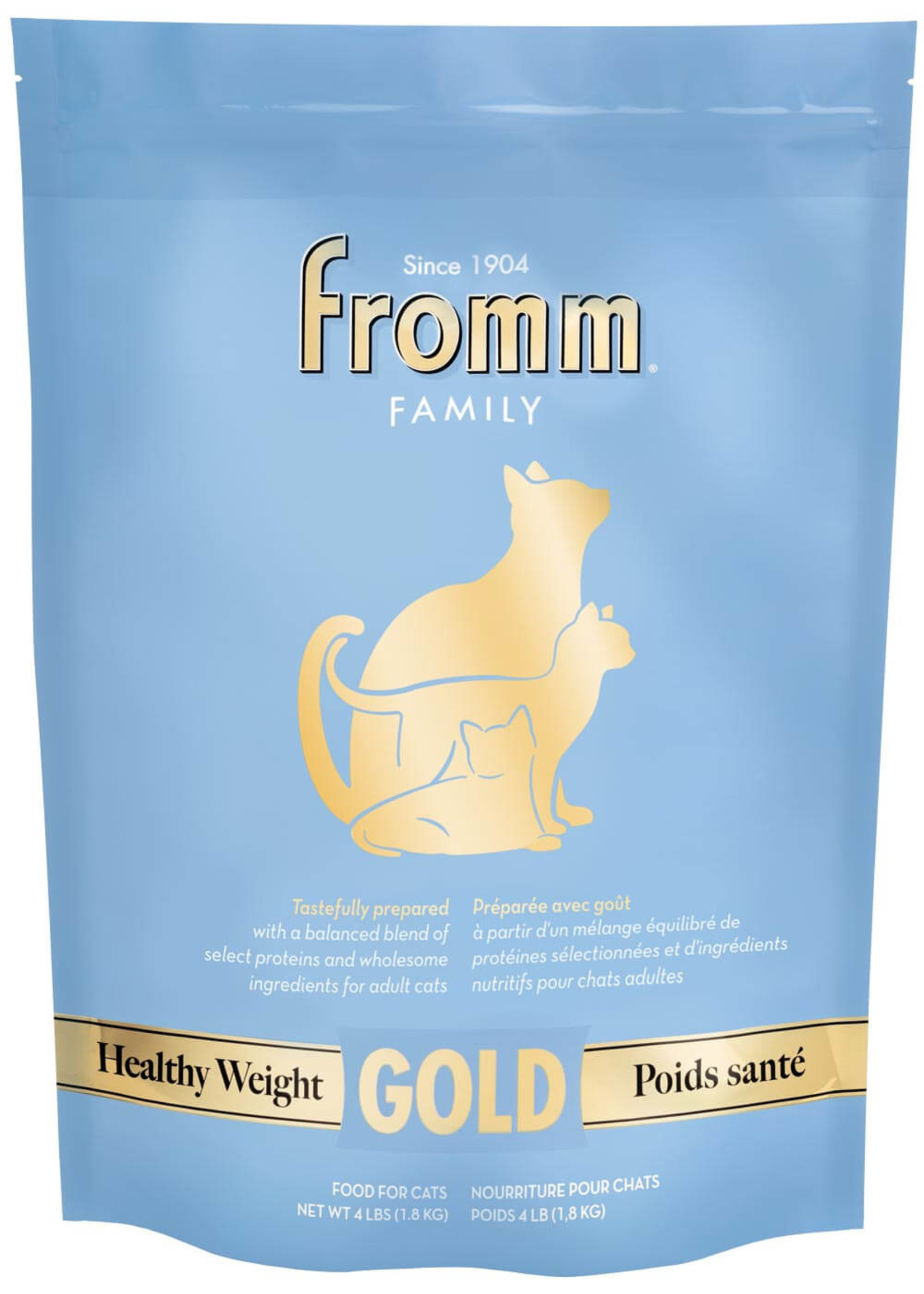 Fromm Fromm Healthy Weight Gold for Cats, 4lb Bag