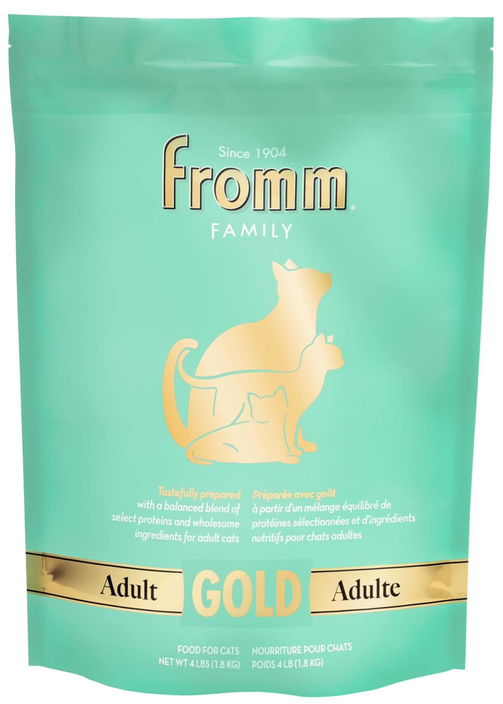 Fromm Fromm Adult Gold for Cats, 4lb Bag